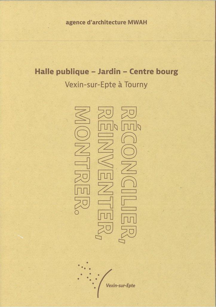 Halle publique-Jardin-Centre Bourg - Tourny