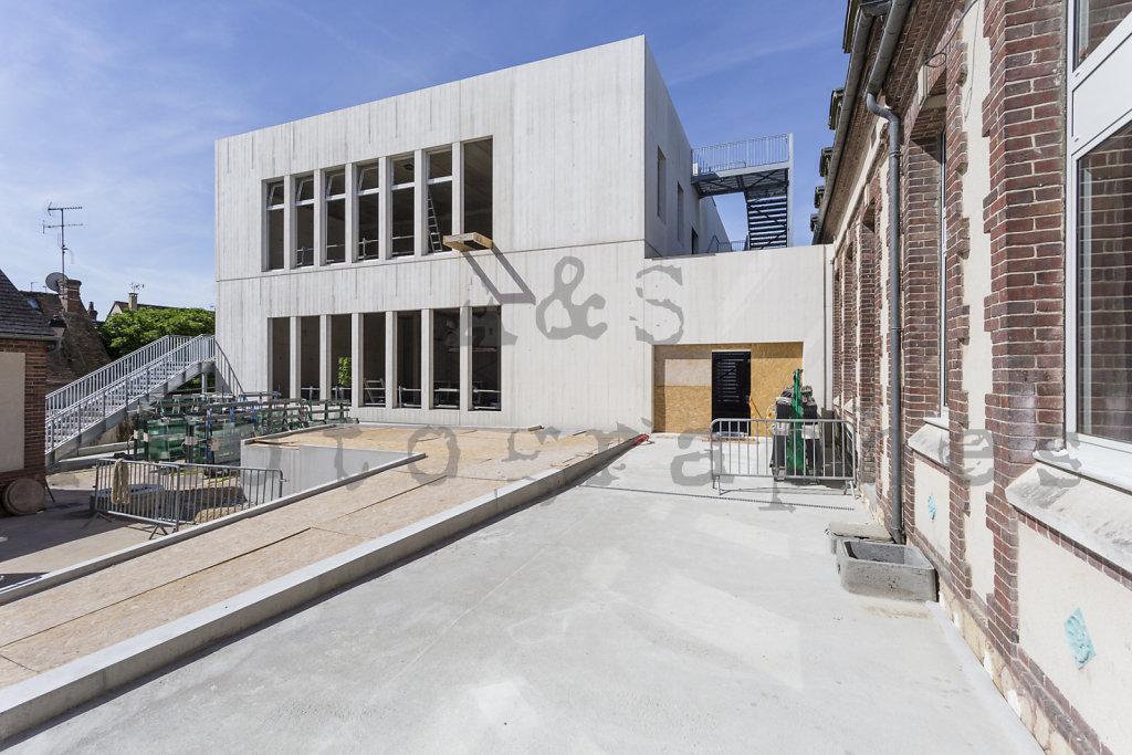 Pôle Culturel et associatif - Pacy sur Eure - Agence d'architecture MWAH