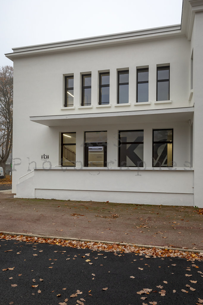 ITII Normandie - Rénovation Bâtiment K0 - Plateau de l'espace - Vernon - Agence d'architecture MWAH