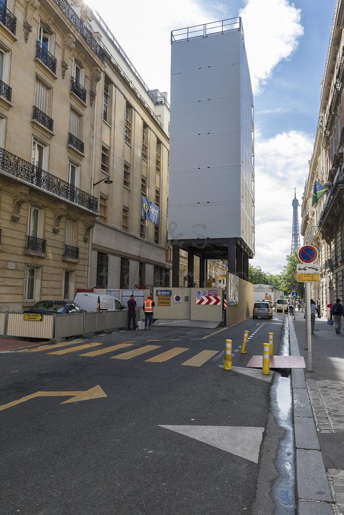 Hôtel 16 Avenue d'Eylau - Paris - - Entreprise Générale Fayat